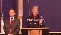 Voeux 2015 au SDIS de l'Oise: le discours du Président de l'Union départementale des sapeurs-pompiers