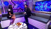 Andrea Faustini's Exit Chat   The Final   The Xtra Factor UK   The X Factor UK 2014