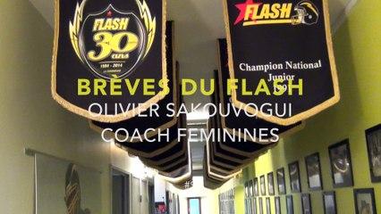 """Brèves du Flash"" Olivier HC séction Feminines"