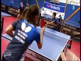LA MAYENNE terre de ping . CA MAYENNE PRO A Dames tennis de table saison 2014 / 2015