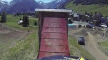 Le parcours slopestyle des Crankworx Les 2 Alpes 2014 !