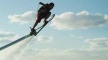 Hoverboard, la planche qui permet de voler au-dessus de l'eau