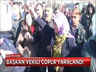 Şanlıurfa valisi İzzetin Küçük'ün talimatıyla hazırlandı albayrak Kilometrelerce uzaktan görülebilecek şekilde dikildi 40 metre yüksekliğinde ve 100 Metrekare genişliğindeki Dev bayrağı Mehmetçik törenle astı