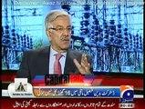 Khawaja Asif in Capital Talk - 28th January 2015