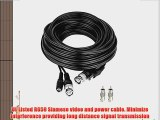 5 Star Cable UL Listed 150 feet Professional Grade RG59 siamese CCTV combo cable for surveillance