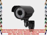 ANRAN 2.0 Megapixel HD POE 78 IR SONY CMOS Sensor Onvif Security Network IP Camera Zoom 2.8-12mm