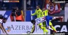 Garcia R Goal Atletico Madrid 2 - 1 Barcelona Copa del Rey 28-1-2015