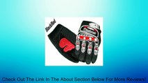 Typhoon Youth Kids Motocross Motorcycle Offroad BMX MX ATV Dirt Bike Gloves - Black / Red - XL Review