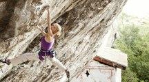 Angela Eiter est la première femme à avoir grimpé une voie 9a