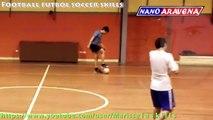 Trick ball Slow motion Best Street Football skills EVER  Panna lujo magia Ronaldinho