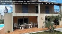 A vendre - maison - CHATEAUNEUF LES MARTIGUES (13220) - 6 pièces - 160m²