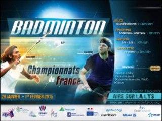 Les Championnats de France de Badminton en live