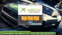 XBOX LIVE GENERATEUR DE CODE  XBOX - FEVRIER 2015 - XBOX GENERATOR CODE - GENERER DES CODES XBOX LIVE