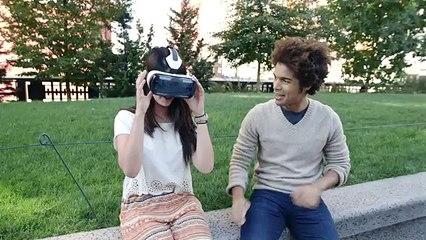 Gear VR'ı İlk Kez Kullanan Kişilerin Tepkileri