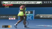 Serena Williams and Maria Sharapova to meet in final for Australian Open title (29 - 01 - 2015)
