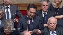 Arnaud Robinet - Grèves dans les domaines de la santé