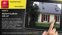 A vendre - maison - BEAUFORT EN VALLEE (49250) - 6 pièces - 105m²