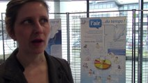 Présentation par Clara Osadtchy de l'exposition sur la qualité de l'air réalisée par AIR COM
