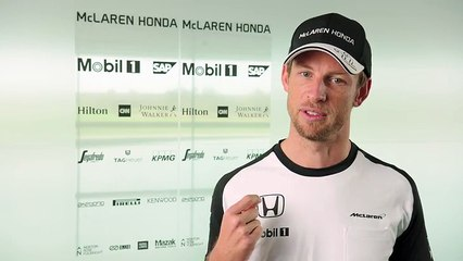JENSON BUTTON - McLaren-Honda MP4-30 Car Launch 2015