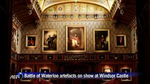 Battle of Waterloo artefacts go on display at Windsor Castle