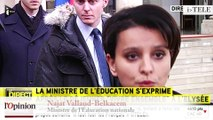 """TextO' : Najat Vallaud-Belkacem : """"L'équipe de l'établissement scolaire a bien réagi."""""""