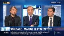 BFM Story: Présidentielle 2017: Marine Le Pen arriverait en tête au premier tour selon un sondage – 29/01
