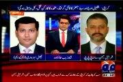GEO Aaj Shahzaib Khanzada Kay Saath with MQM Faisal Sabzwari (28 JAN 2015)