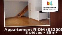 A vendre - Appartement - RIOM (63200) - 3 pièces - 88m²