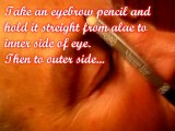 How To Get The Perfect Eyebrows - How To Pluck Eyebrows - Basic Eyebrows Tutorial