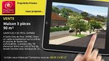 A vendre - maison - SAINT GELY DU FESC (34980) - 3 pièces - 90m²