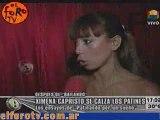 ELFOROTV.COM - Ximena Capristo Patinando