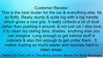 Car Duster, Interior Brushes, Duster for Car, House Cleaning For Interior and Exterior Use - No Breakable Plastic Parts - Stainless Steel Handle - Electrostatic Duster Works Also for House Cleaning Review