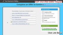 ASF-AVI-RM-WMV Repair Cracked (asf-avi-rm-wmv repair v1.82)