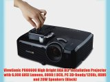 ViewSonic PRO8600 High Bright XGA DLP Installation Projector with 6000 ANSI Lumens 8000:1 DCR