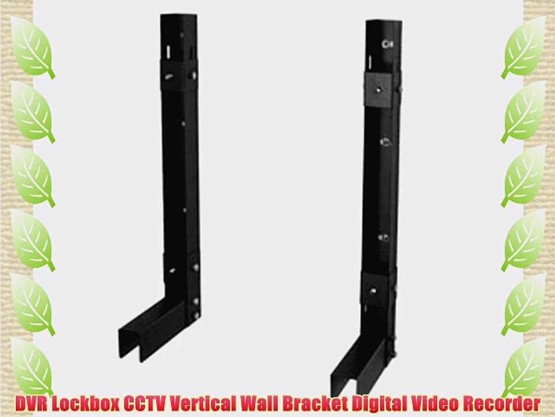 DVR Lockbox CCTV Vertical Wall Bracket Digital Video