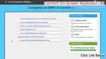 Comfort On-Screen Keyboard Lite Key Gen (comfort on-screen keyboard lite 7.0 registration key)