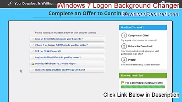 Windows 7 Logon Background Changer Serial (Download Here)