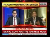 Pervez Musharraf vs Indian tv Anchor, Pervez Musharraf blast on Indian media and indian Army.