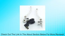 Chrome Folding Clutch & Brake Grip Lever Set for Pit Dirt Bike 90cc 110cc 125cc Bicycle Chinese Review