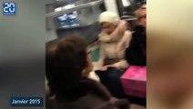 Un conducteur du métro parisien chante pour pour distraire les passagers