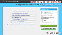 Batch CHM to Word Converter Cracked - Free of Risk Download