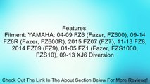 Shorty Hand Levers- Shorty Levers- - CNC - Yamaha - Brake & Clutch Set - 04-10 FZ6 Fazer, 09-11 FZ6R, 11-13 FZ8, 01-05 FZ1 Fazer, 09-13 XJ6 Diversion - Black Review