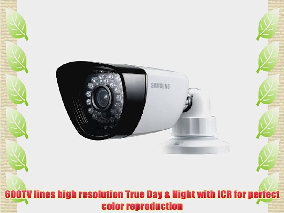Samsung SDC-5340BC Weatherproof Night Vision Camera with 60ft cable on