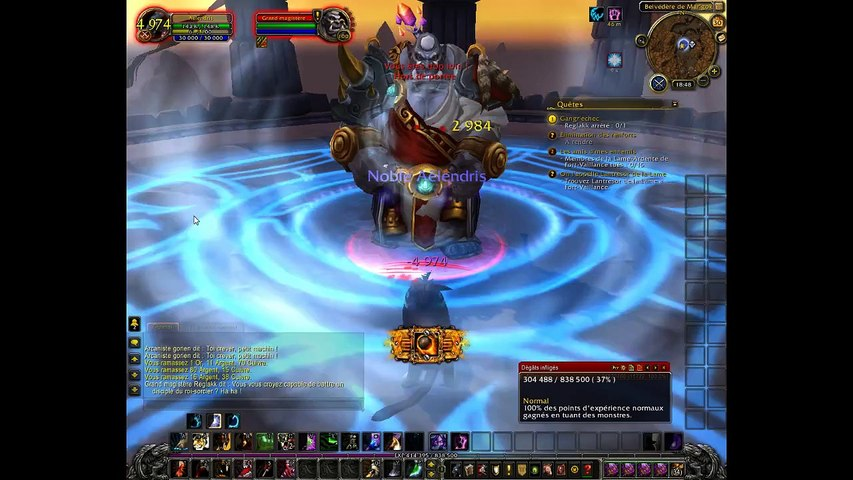 Wow up druide (REPLAY)