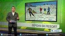 Sepidan Ski Resort in Iranian Fars province attracts winter sport fans