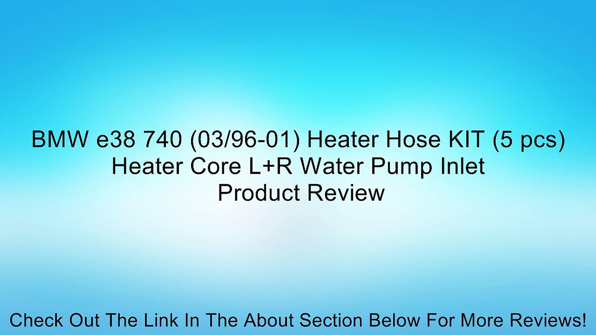URO Parts 49 61 074 Inlet//Outlet Heater Hose Set