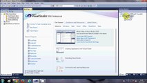 Visual Basic .NET Tutorial 1 - Downloading Visual Studio and Creating First VB Program