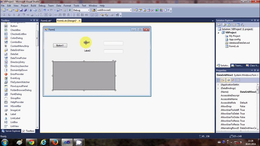 Visual Basic  NET Tutorial 44 - How To Use DataGridView (Adding rows)