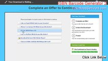 ISBN Barcode Generator 2 Full - Instant Download (2015)
