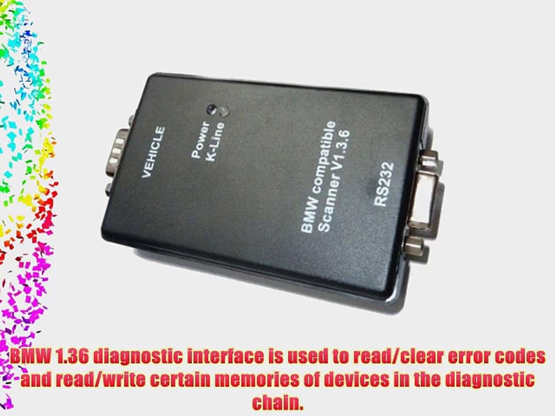 Vktech Car Fault Scanner PA Soft 1 36 Diagnostic Tool Code Reader Black for  BMW